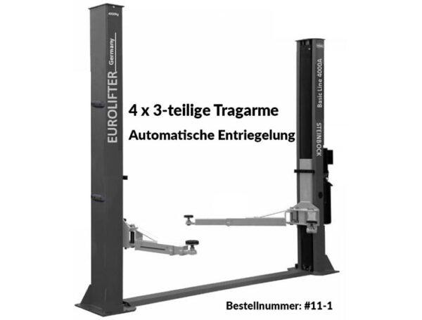 2-Säulen Hebebühne - Basic-Line Serie