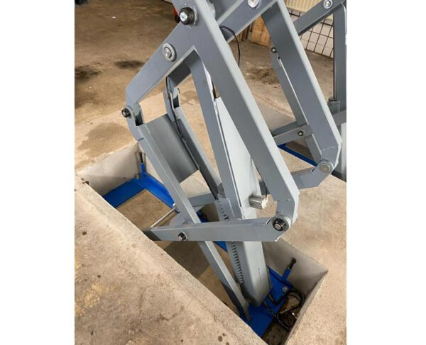 Scissor lifts in-ground mounted