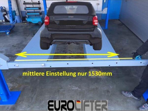 Parklift Steinbock XL 4000 kg