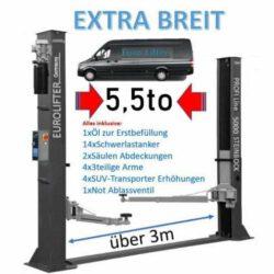 EuroLifter Hebebühne Mega-Line 5500 kg