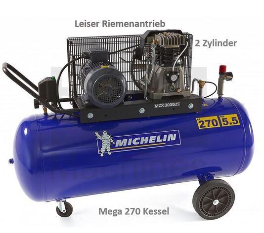 Michelin 270 Liter Kompressor 5,5 PS