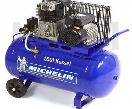 Michelin Kompressor 100 Liter - 3 PK - 230 Volt
