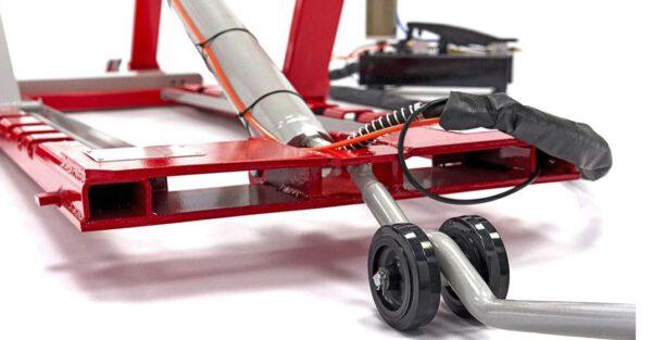 Mobile Scherenhebebühne Räder