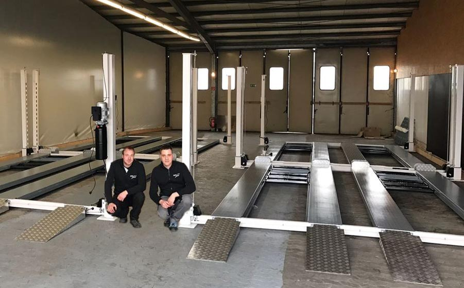 Eurolifter car lift installation service