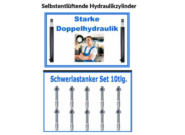 Selbstentlüftende Hydraulikzylinder