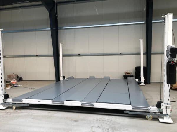 Parkhebebühne Stahlböden